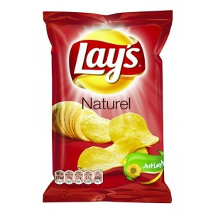 Lays Chips Naturel (Sel) 20 x 40g