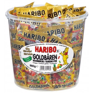 Oursons d'Or 100 x 10g Haribo
